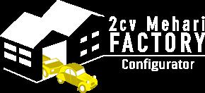 2CV - Mehari  Configurator